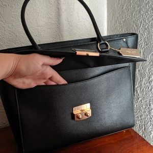 Coach Bags - Coach Black Leather Avary Tote